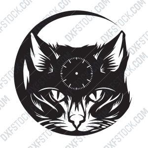 dxfstockcom-cat-clock-2