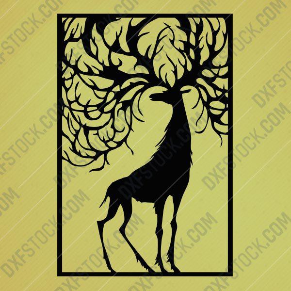 dxfstockcom-cnc-best-design-deer-2