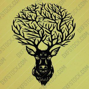 dxfstockcom-cnc-deer-design-122-1