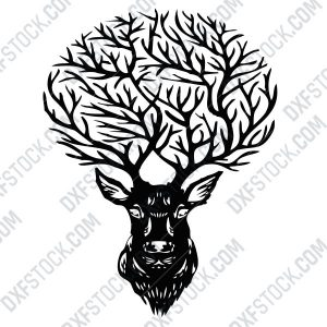 dxfstockcom-cnc-deer-design-122-2