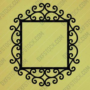 dxfstockcom-cnc-mirror-frame-free--design-2-1