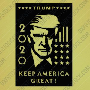 dxfstockcom-cnc-trump-2020-usa-america-design-2