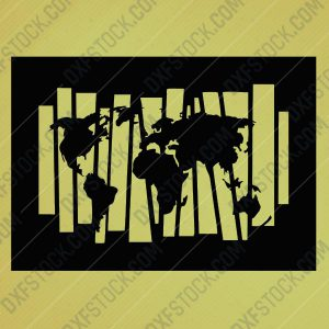 dxfstockcom-cnc-world-map-s109-1