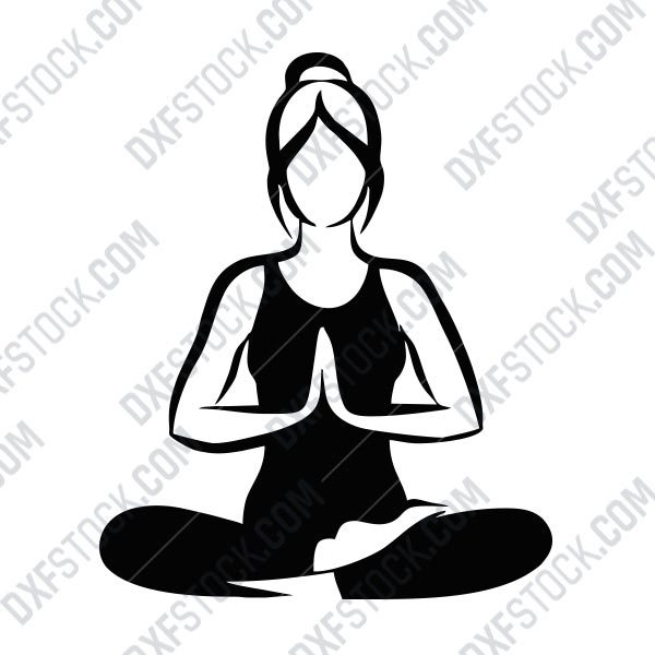 Yoga Room Exclusively For Girls Eps Ai Svg Dxf Cdr Dxf Stock Free Dxf File Downlads Cuttable Designs Cnc Cut Ready Diy Home Decor