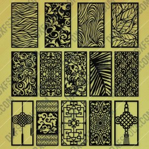 Panels Patterns And Scenes Decorative DXF SVG CDR EPS PNG AI P057