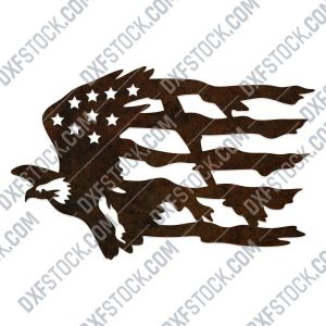 American Eagle Design files P0286 - EPS AI SVG DXF CDR