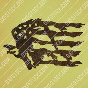American Eagle Design files P0286 - EPS AI SVG DXF CDR