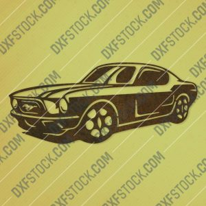 Old car vector design files - DXF SVG EPS AI CDR